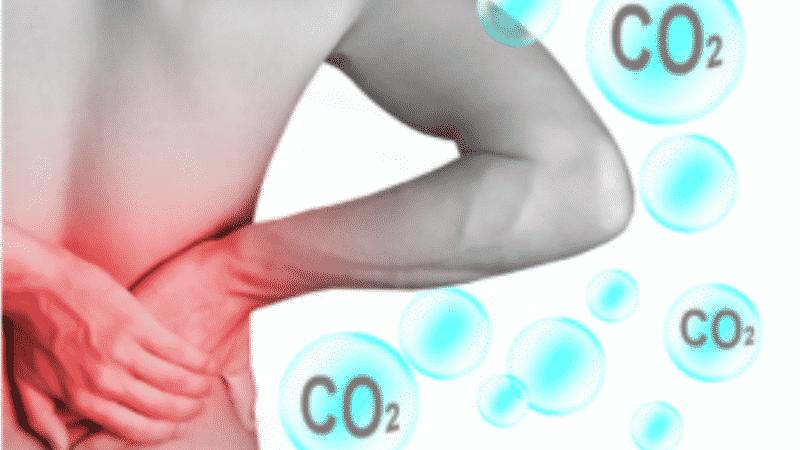 CO2 и боль в спине
