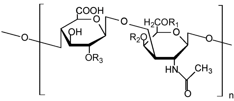 Структурная формула хондроитина