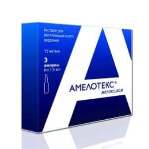 Как применять препарат Амелотекс