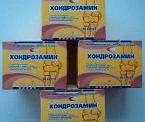 Как применять таблетки Хондрозамин