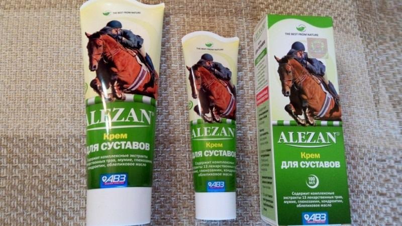Как применять крем Алезан для суставов