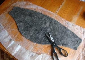 Как сделать пояс из собачьей шерсти
