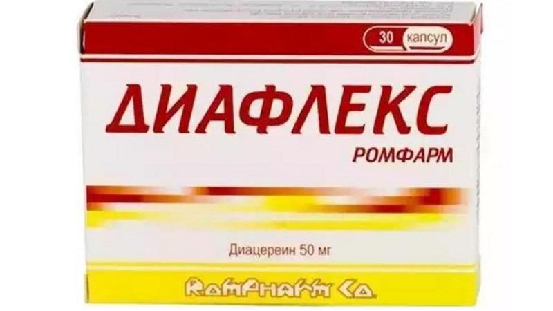 Как принимать таблетки Диафлекс Ромфарм