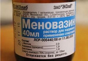 Меновазин от головной боли как применять