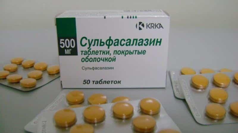 Как применять препарат Сульфасалазин