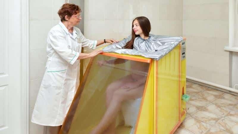 Воздушно-радоновые ванны