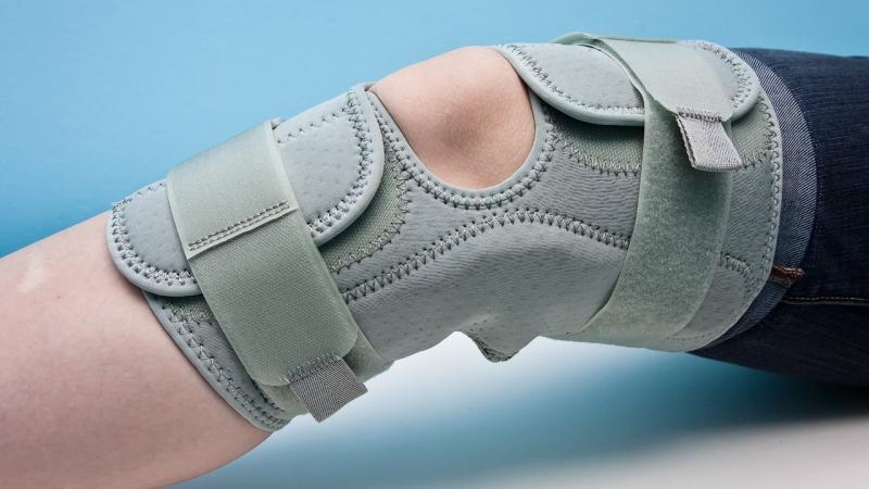 Как правильно бинтовать колено эластичным бинтом
