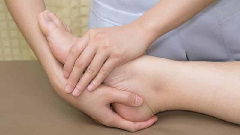 Как лечить перелом стопы