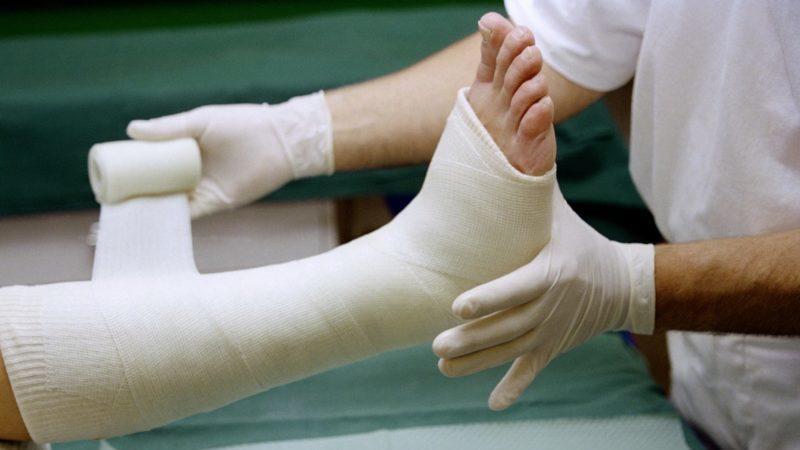 Как лечить перелом большого пальца ноги