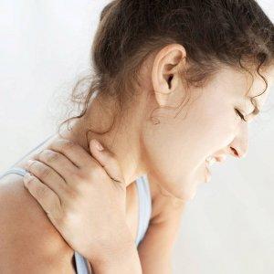 Как снять спазм мышц шеи