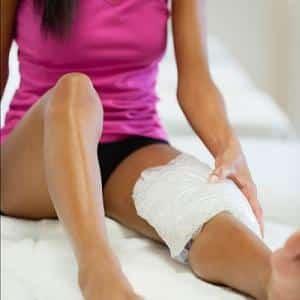Как сделать компресс на колено
