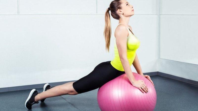Комплекс упражнений с гимнастическим мячом для позвоночника