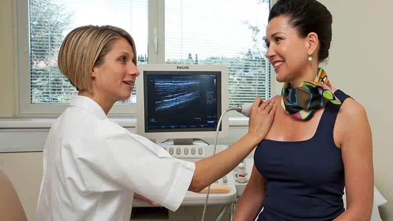 Что показывает УЗИ плечевого, локтевого и лучезапястного суставов