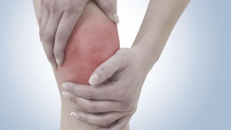 Что делать, если застудил колено