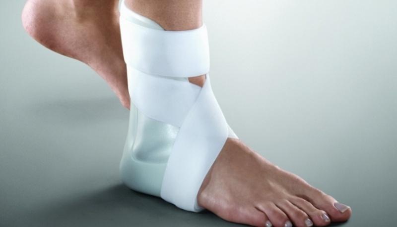 Как правильно носить ортез на голеностопном суставе