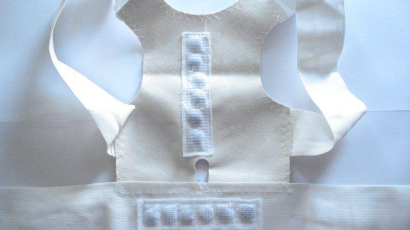 Как правильно носить магнитный корректор осанки