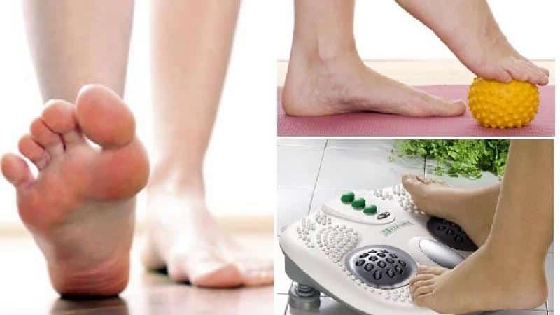 Как делать массаж при плоскостопии