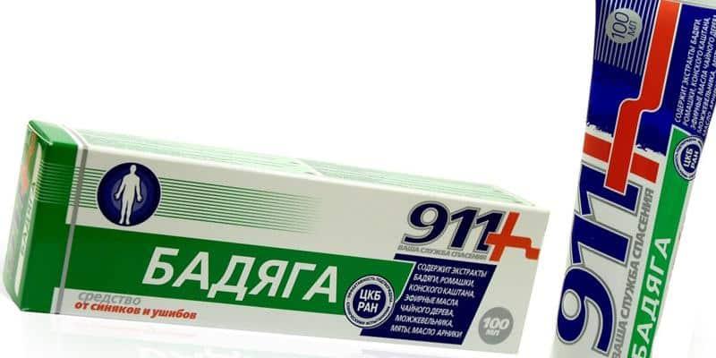 Как применять гель Бадяга 911