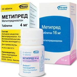 Как принимать Метипред при артрите