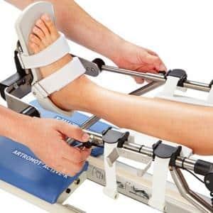 Как использовать аппарат Артромот для коленного сустава