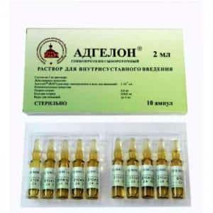 Как применять препарат Адгелон