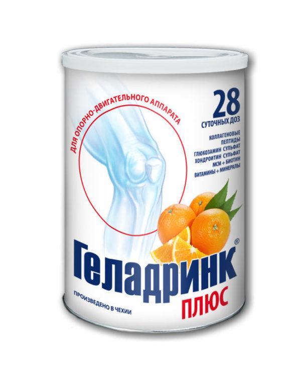 Как применять препарат Геладринк Плюс