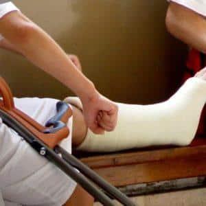 Реабилитация после перелома лодыжки со смещением