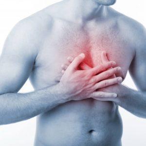 Что делать при боли в грудной клетке посередине