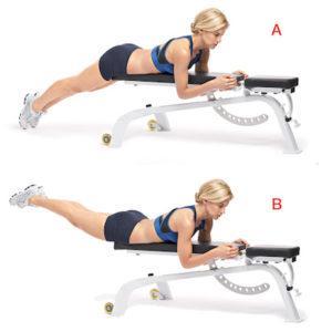 Как правильно делать гиперэкстензию на спину