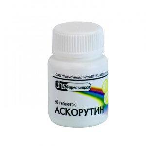 Как применять препарат Аскорутин