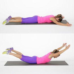 Какие упражнения помогают от болей в спине