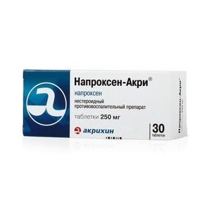 Как применять препарат Напроксен Акри