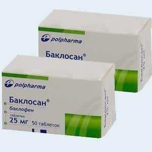 Как применять таблетки Баклосан