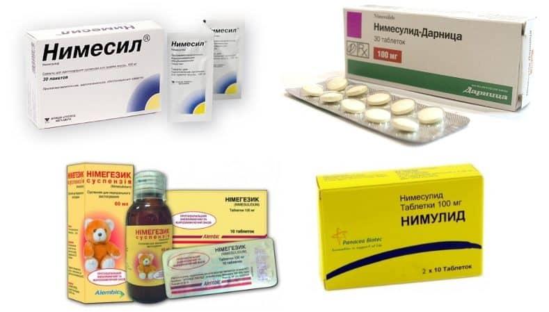 Как применять лекарство Нимид