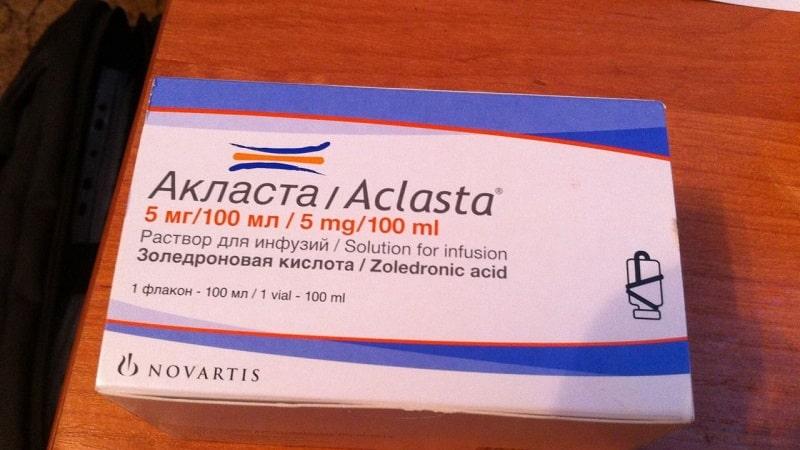 Как применять препарат Акласта