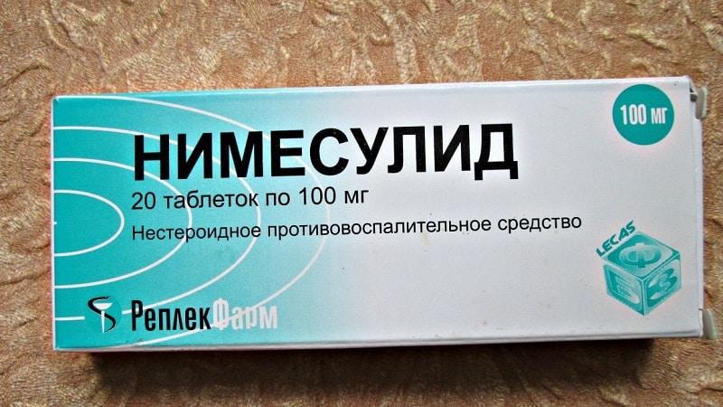 Как применять таблетки Нимесулид